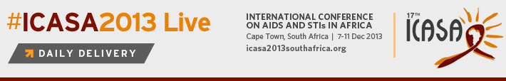 #ICASA2013 Live Daily Delivery | December 7-11, 2013 | Curated coverage presented from Cape Town, South Africa.