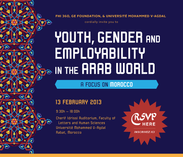 Youth, Gender and Employability in the Arab World: A Focus on Morocco